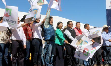 Omar Fayad impulsa la modernización carretera en Hidalgo.