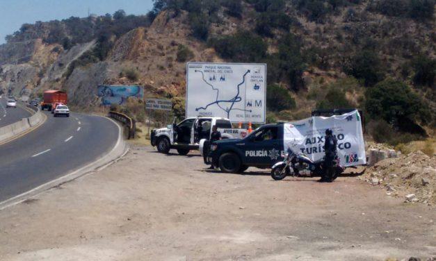 Policía de Hidalgo atendió a turistas