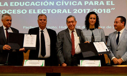Establecen convenio el IEEH y la PGJEH en materia de prevención,  atención de delitos electorales y fomento a la educación cívica