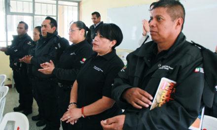 Personal del Sistema Penitenciario de Hidalgo  recibe actualización en justicia para adolescentes