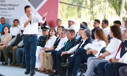 """HIDALGO SEDE DEL BANDERAZO NACIONAL """"BIENVENIDO PAISANO 2018"""""""