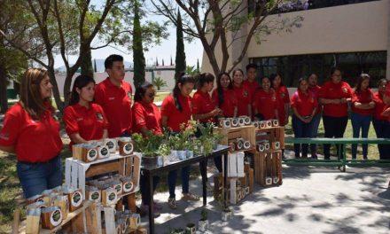 ESTUDIANTES DE UTVM PRESENTAN PROYECTO FARMACIA VIVIENTE