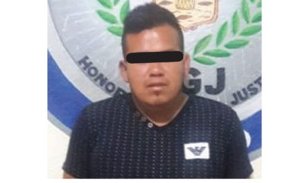 Presunto responsable de robo de vehículos, Ixmiquilpan