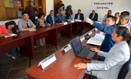 Reunión estatal de evaluación del tratamiento del incendio ocurrido en el predio La Cañada de Mineral de la Reforma