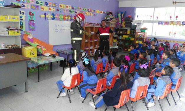 Fomentan Cultura de Protección Civil a niñez de Tula