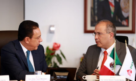 Petróleos Mexicanos y el gobierno de Hidalgo acuerdan trabajar juntos para detonar el desarrollo en la entidad