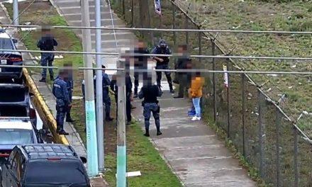 Cuatro personas detenidas por posible relación con actividades ilícitas; Pachuca Hgo.,