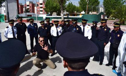 Con estrategia Hidalgo Seguro, capacitación  permanente a agentes de Policía