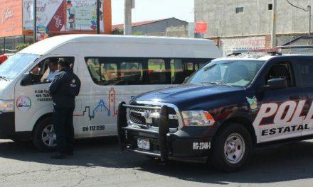 IMPLEMENTAN SECRETARÍAS DE MOVILIDAD Y SEGURIDAD OPERATIVO CONJUNTO CONTRA TRANSPORTE IRREGULAR