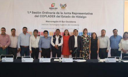 Instalan y sesionan los Comités de Planeación para el Desarrollo Regional de macroregiones estatales