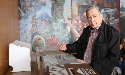 El Secretario de Gobierno de Hidalgo acudió a votar