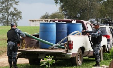 Reditúa resultados Fuerza Especial Conjunta:  328 mil litros de hidrocarburo, 112 personas y 369 vehículos asegurados