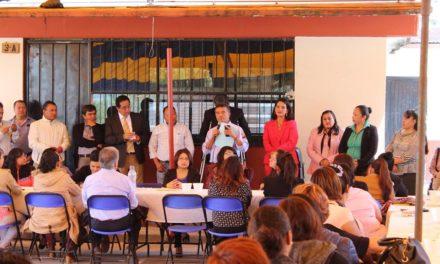Invertirá Tepeji 7 millones de pesos para infraestructura en planteles educativos.