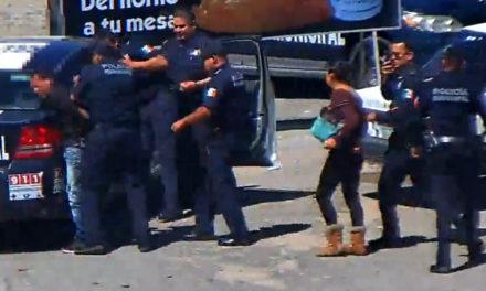 Dos detenidos con monitoreo preventivo en  videovigilancia y operativo policial en Pachuca