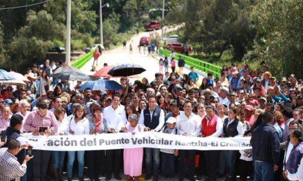 ENTREGA DE INFRAESTRUCTURA VIAL, UN ACTO DE JUSTICIA SOCIAL PARA LOS HIDALGUENSES.
