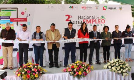 Se realiza 2da. feria del empleo para jóvenes en Tepeji del Río.