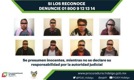 De Morelos y Estado de México, los 8 detenidos por secuestro del alcalde de Naupan, Puebla