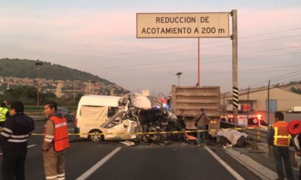 SOBRE ACCIDENTE EN CARRETERA PACHUCA- CD. SAHAGUN