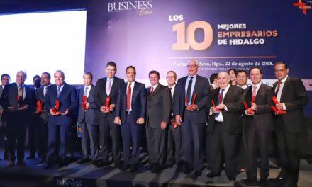 Los 10 mejores empresarios de Hidalgo.