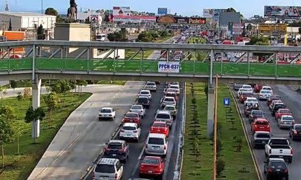 SOPOT adecua trazo de carriles sobre la carretera federal México – Pachuca