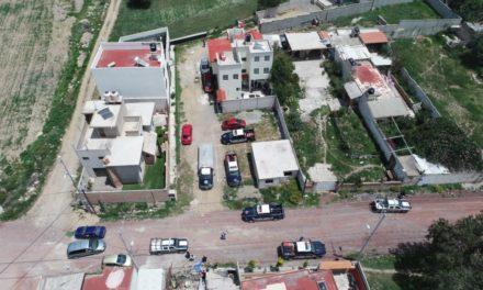 Fuerza Especial Conjunta asegura vehículos  con contenedores y robados; frustra robo a domicilio