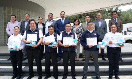 Reconoce sector empresarial a monitoristas en videovigilancia y policías procesales de la SSPH