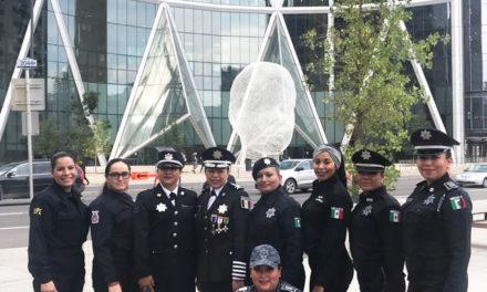 Titular de Unidad Policial de Género de la SSPH  participa en conferencia internacional en Canadá