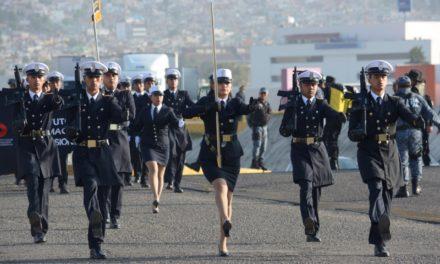 Realizan pase de revista a personal  de la SSPH que participará en desfile