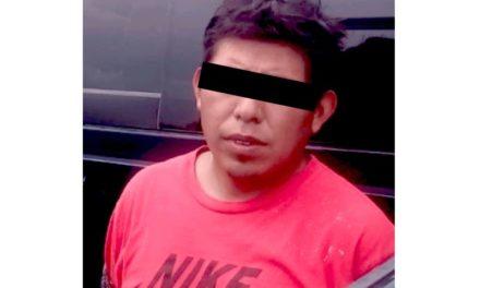 Frustra Policía Estatal robo a ferrocarril  en Huichapan; un detenido