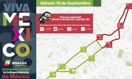 SEMOT IMPLEMENTA OPERATIVO ESPECIAL DE MOVILIDAD DURANTE FESTEJOS PATRIOS 2018