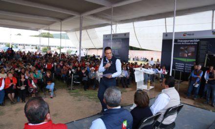 5 MDP EN INFRAESTRUCTURA, ENTREGÓ GOBERNADOR OMAR FAYAD EN ALMOLOYA