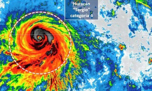 Se aleja el huracán 'Sergio' sin afectar al país, destaca la UdeG