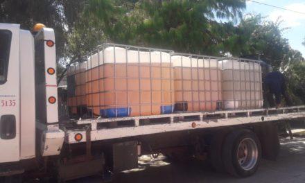 Recupera Fuerza Especial Conjunta 12  mil litros de combustible en Cuautepec