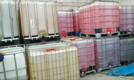Asegura Fuerza Especial Conjunta 87 mil litros de hidrocarburo en Zimapán