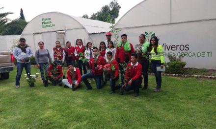 Alumnos de telebachillerato de  Cantera de Villagrán, realizan recorrido en instalaciones de CEMEX.