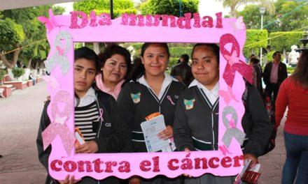 Tepeji se suma al día mundial contra el cáncer de mama