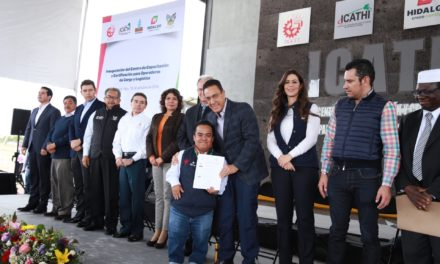 HIDALGO NÚMERO UNO Y REFERENTE NACIONAL EN MATERIA DE CAPACITACIÓN PARA EL TRABAJO