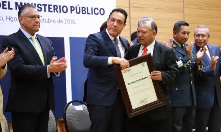 OMAR FAYAD SE PRONUNCIÓ A FAVOR DE FORTALECER LAS INSTITUCIONES DE PROCURACIÓN DE JUSTICIA EN EL PAÍS