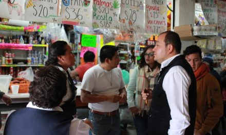 Mercado municipal de Tepeji busca cédula de certificación como entorno saludable.