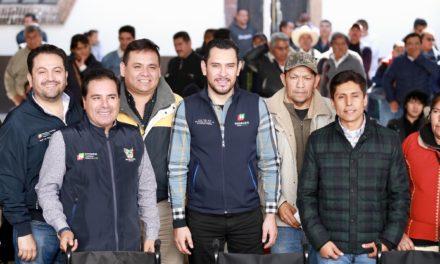 El trabajo mancomunado permite resultados para las familias de Hidalgo: Israel Félix Soto