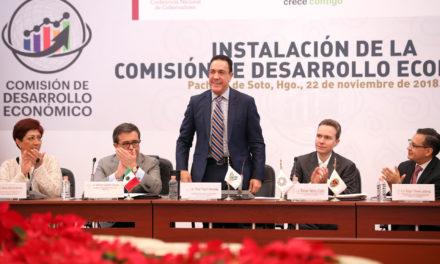 OMAR FAYAD PRESENTA AGENDA DE DESARROLLO ECONÓMICO DE LOS ESTADOS PARA EL NUEVO GOBIERNO FEDERAL