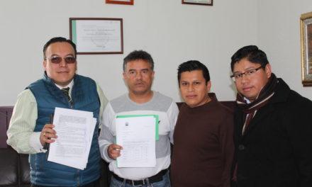 FIRMA CONVENIO UNIVERSIDAD DEL NUEVO MÉXICO Y EL GOBIERNO MUNICIPAL DE TEPEJI