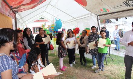 Instituto Municipal de la Juventud de Tepeji concluye taller de piñatas.