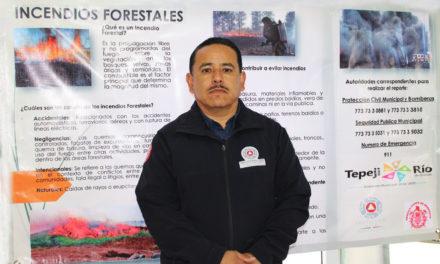 Este año disminuyó el número de incendios registrados en Tepeji.