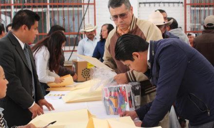 Toman protesta las nuevas autoridades auxiliares de Tepeji.