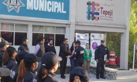 Se fortalecen estrategías de Seguridad Pública promovidas por el Ayuntamiento de Tepeji.
