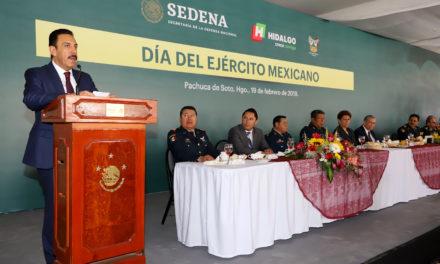 REFRENDA OMAR FAYAD RESPALDO A LA CONFORMACIÓN DE LA GUARDIA NACIONAL