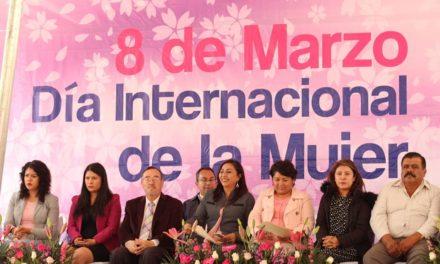Conmemoraron el Día Internacional de la Mujer en Tepeji.