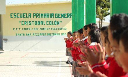Tepeji del Río continua reafirmando el compromiso que tiene con la niñez del municipio