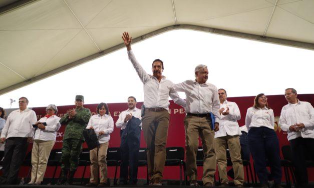 REFRENDÓ OMAR FAYAD RESPALDO DE LOS HIDALGUENSES  AL PROYECTO ENERGÉTICO DEL PRESIDENTE LOPEZ OBRADOR